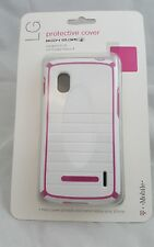 Body Glove Protective Cover for the Lg Google Nexus 4, White/Pink