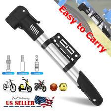 Hand Sport Cycling Bicycle Air Pump Bike Air Stick Presta Schrader Tire Inflator