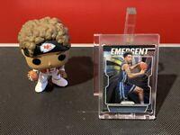 2019-20 Panini Prizm Brandon Clarke Rookie Emergent #28 Memphis Grizzlies