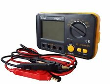 VC480C+ 3 1/2 Digital Milli-ohm Meter DMM Backlight w/ /External Cord USA Seller