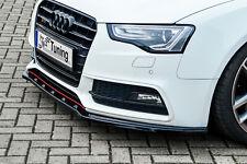 Sonderaktion Spoilerschwert Frontspoiler aus ABS für Audi A5 B8 S-Line mit ABE