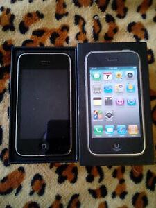 iPhone 3gs black 8gb unlocked original