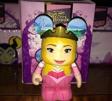 "Princess Aurora 3"" Vinylmation Figurine Sleeping Beauty Series Pink Crown"