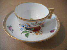 MEISSEN A MARCOLINI CUP & SAUCER [ 1700 ] [ASTERISK UNDER X SWORD]