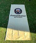 NEW Franziskaner Weissbier Monk Beer Flag Banner 9+ ft Tall
