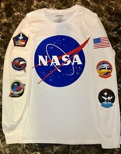 NASA Long Sleeve Shirt - Size Medium