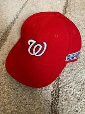 bb33e2d67 Washington Nationals Fitted Cap Size 7.5 (7 1 2) - 2014 Playoff Patch