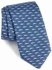 Vineyard Vines Men's Marlin Silk Tie in Navy with Gift Box $85.00