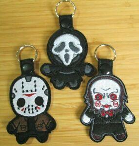 Jigsaw, Jason Key Ring - Wool Blend Felt Key Ring / Bag Charm / Gift
