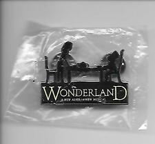 Wonderland Broadway Musical Souvenir Lapel Pin