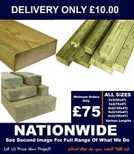 Timber Treated 2x2/3x2/4x2/5x2/6x2/7x2/8x2/9x2 -C16/C24 Regularised Timber Cheap