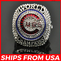 FROM USA - Official World Series Championship CHICAGO CUBS 2016 Ring - All Sizes