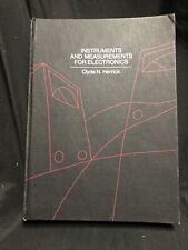 Instruments & Measurements For Electronics Hardcover By Herrick 1972