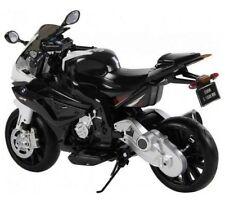 12 Volt Licensed BMW Two Speed Electric Kids Child Ride On Bike Motorbike Black