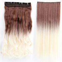 100% Thick 120-200g 1Pc Full Head Clip in Hair Extensions as remy human hair M96