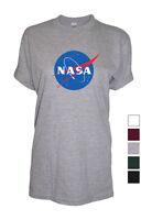 Nasa UNISEX womens mens top Tshirt visit shop cosmic space exploration