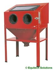 Sealey Tools SB973 Shot Sand Blast Metal Cabinet with Blasting Gun & Stand New