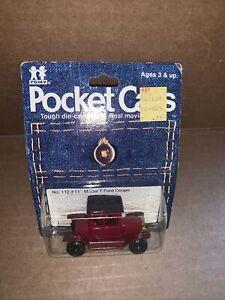 Vintage Tomy Pocket Cars Die-Cast MT Ford Coupe Moc