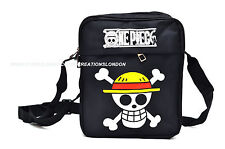 One Piece/Straw Hat Pirates Jolly Rogers canvas messenger shoulder Bag (OPSB1)