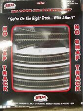 Atlas Two-Rail System HO Scale Model Train Tracks