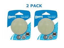 Chuckit! Medium Max Glow Ball 2.5-Inch Dog Toy (2 Pack)