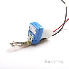 5X AC DC 12V 10A Automatische Lampe Dämmerungsschalter Lichtsensor Dämme X2U3