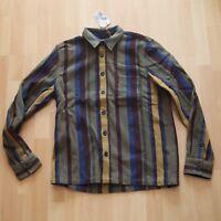 NEU Nudie Jeans,  Hemd, Shirt Sten Wool Club Stripes R22 Multi M