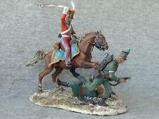 Shcherbakov-HQModels: French Red Lancer Hunting for Grasshoppers, Waterloo 54 mm