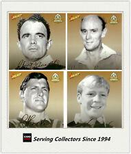 2008 Centenary NRL Master Set Oversize TOC Foil Signature Card FULL SET(18)-RARE
