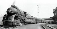 Lehigh Valley railroad train 1939 photo John Wilkes steam Locomotive Art Deco