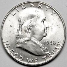 1948-P Franklin Half Dollar BU