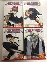 Bleach Manga 11 & 17 & 18 & 20 English Shonen Jump