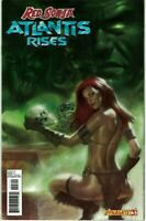 Red Sonja Atlantis Rises 3 NM Parrillo Variant Nude Risque Queen Dynamite 23 25