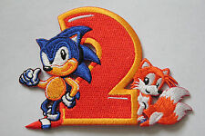 Sonic and Tails (Sonic the Hedgehog 2) Embroidery Patch (7.5cm x 10cm)