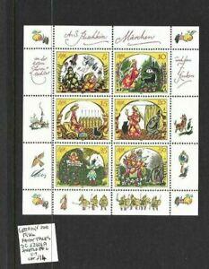 Germany DDR 1984 Fairy Tales sheet MNH