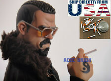 "6 x 1/6 Scale Cigarette Paper Model For 12"" Figure Phicen Hot Toys Dragon U.S.A."