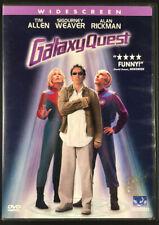Galaxy Quest (2000, Dvd) Tim Allen Sigourney Weaver Alan Rickman SciFi Comedy Ex