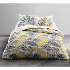 Linge de lit et ensembles noirs avec des motifs Nature en 100% coton