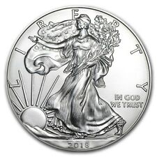New! 2018 - 1 oz American Silver Eagle Coin Brilliant Uncirculated / In Stock