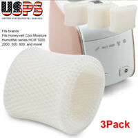 Fit For Honeywell HAC-504AW HAC-504W Type A Kaz Vicks WF2 Humidifier Filter 3Pcs