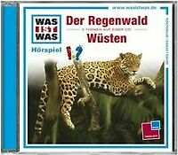 WAS IST WAS, Folge 24: Der Regenwald/Wüsten von Was Ist Was | CD | Zustand gut