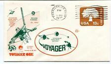 1977 Voyager One Nuclear Powered Pasadena California JPL-NASA Jupiter Saturn USA