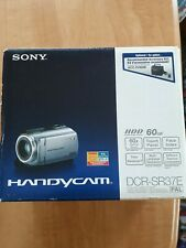 SONY HANDYCAM DCR-SR37E CAMCORDER 60GB BOXED HDD HARD DRIVE DIGITAL VIDEO CAMERA
