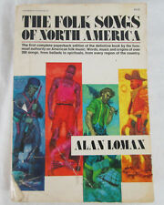 The Folk Songs of North America by Alan Lomax(1975) Vintage Music Book