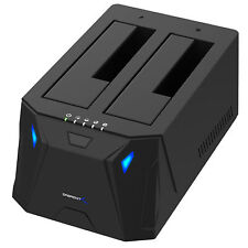 Sabrent USB 3.0 docking 2 Bay HDD EC-HD2B