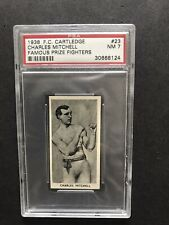 Cartledge - Famous Prize Fighters 1938 - Charles Mitchell - PSA 7 NM
