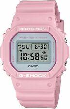 Casio G-SHOCK DW5600SC-4D, квадратный циферблат бледный цвет стандартные цифровые мужские часы