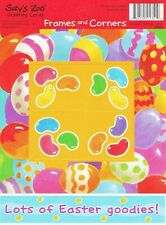 Suzy's Zoo 25 Sheets Easter Eggs Jelly Beans Goodies Frames and Corners