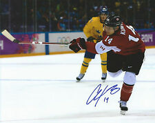 **GFA Team Canada *CHRIS KUNITZ* Signed 8x10 Photo MH4 COA**