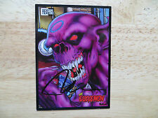 1993 PRESS PASS EUDAEMON PROMO CARD SIGNED CREATOR NELSON ART